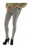 Leggings Grey Stretch Fit Jersey Leggings