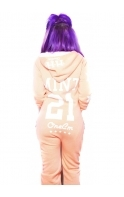 """""""Holly Loves"""" Holly Hagan Tropical Coral """"MINT"""" Onesie"""