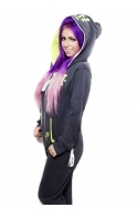 """""""Holly Loves"""" Holly Hagan Charcoal Lime MORTAL Onesie"""