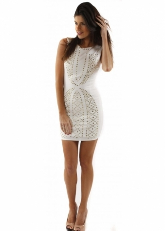 Dress Studded Designer Inspired Shift Dress