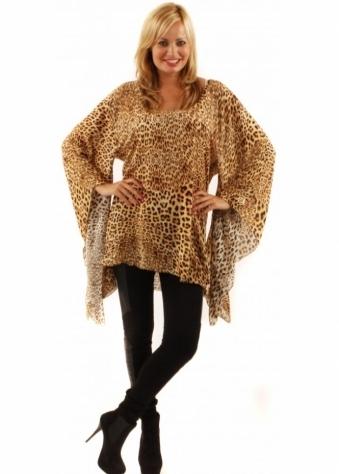 One Teaspoon Tiger Moth Printed Tunic Dress