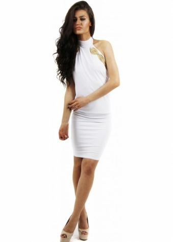 Honor Gold Sacha Knee Length White Dress