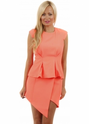 Take A Bow Sherbet Pleated Top