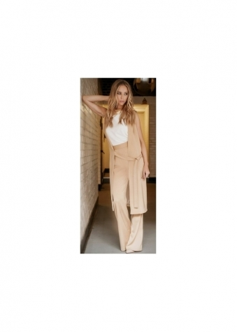 Lauren Pope Wide Leg High Waisted Palazzo Trousers