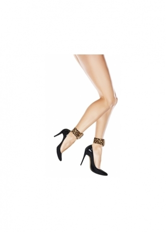 Honeycomb Leopard Ankle Candy