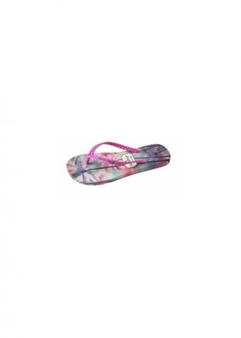 Gandys Palmtree Paradise Pink Flip Flops