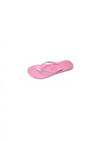 Gandys Glitters Dolly Mix Pink Flip Flops