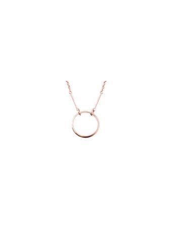 Sparkling Jewellery  Kismet Karma Rose Gold Necklace