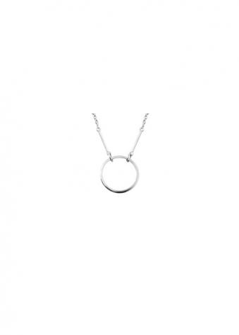 Sparkling Jewellery  Kismet Karma Silver Necklace