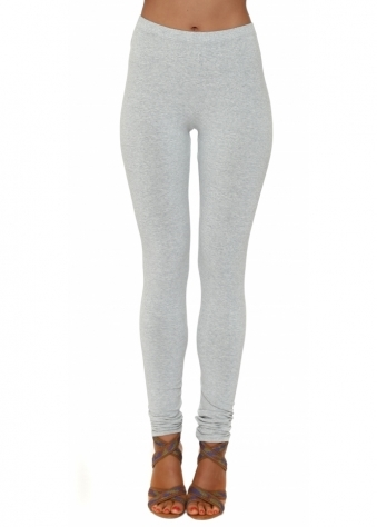A Postcard From Brighton Foam Grey Melange Jersey Leggings