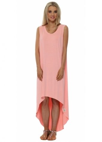 A Postcard From Brighton Dressie Coral Tunic Dress