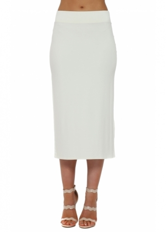 A Postcard From Brighton Mindy Foam Jersey Midi Skirt