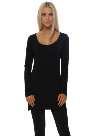A Postcard From Brighton Liberty Black Long Sleeve Top