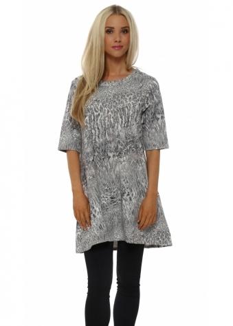 Sandee Super Natural Foam Mini Dress