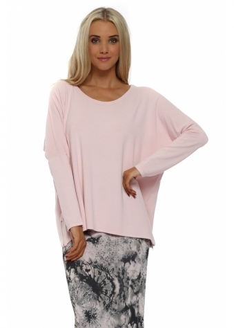 Victoria Buff Pink Zip Sweater