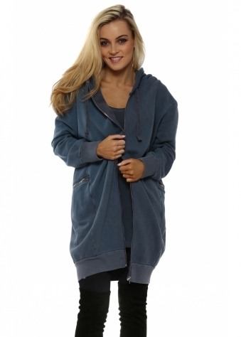 Penelope Wet Slate Polar Fleece Parker