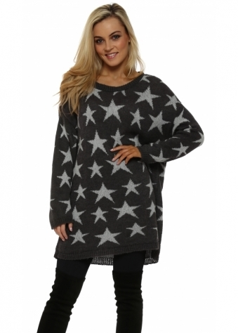 Stary Knit Putty Oversized Cosy Jumper