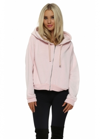 Pia Buff Polar Fleece Hoodie Top
