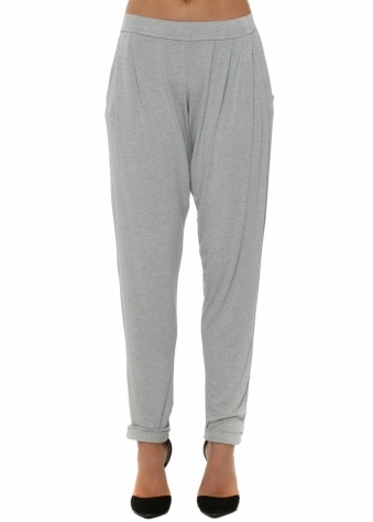 Putty Melange Chillings Loose Fit Pants