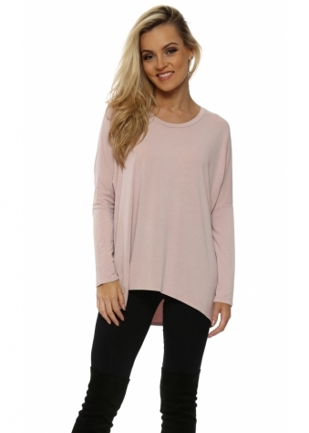 Kammy Chalk Long Sleeved Tunic Top