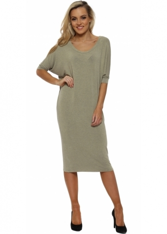 Fenella Nomad Melange Short Sleeve Tunic Dress