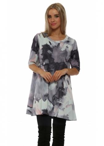 Chelsea Cloudy Bone Mini Dress