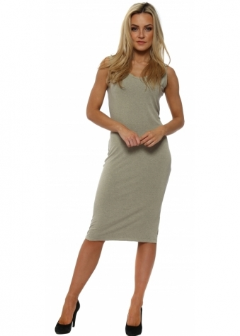 Nancy Nomad Melange Jersey Midi Dress