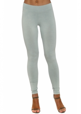 Anita Plain Julep Grey Jersey Leggings
