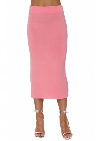 Mindy Ibiza Sunrise Jersey Midi Skirt
