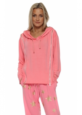 Venus Ibiza Sunrise Double Zipped Hoodie