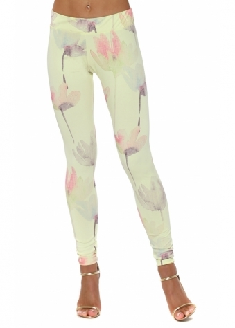Alice Arty Bloom Lemonade Leggings