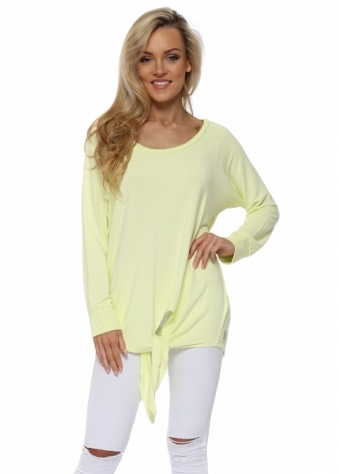 Viv Tie Front Oversized Sweater