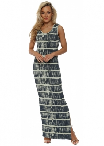 Imelda Ibiza Tie Dye Lemonade Maxi Dress