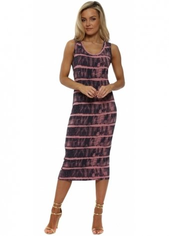 Ivy Ibiza Tie Dye Ibiza Sunrise Midi Dress