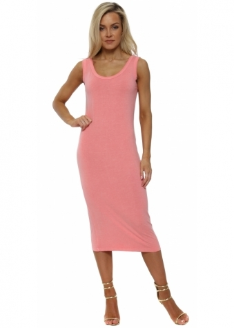 Nancy Ibiza Sunrise Jersey Midi Dress