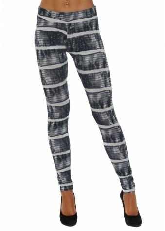 Ivanka Ibiza Tie Dye Vanilla Jersey Leggings