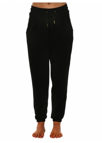 Candy Black Jogger Pants