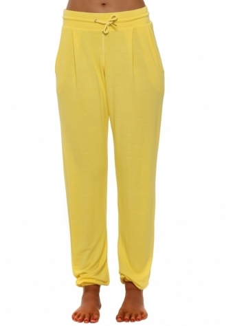 Valerie Canary Jogger Pants