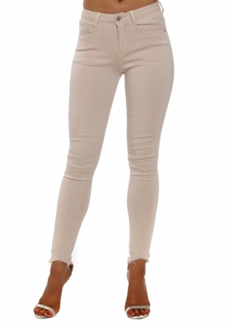 Pink Soft Touch Stretch Fit Pink Jeans