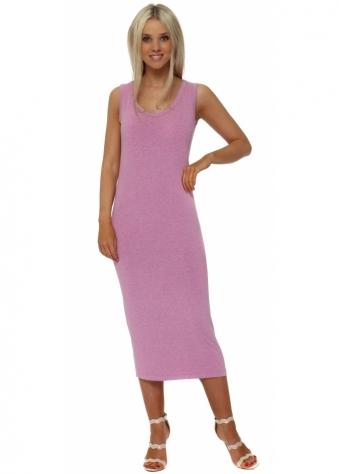 Nancy Passionata Melange Jersey Midi Dress