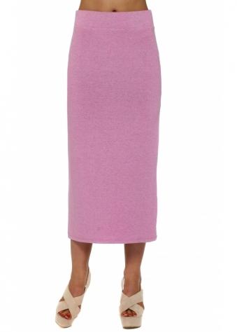 Mindy Passionata Melange Jersey Midi Skirt