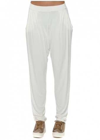 Chillings Loose Fit Pants In Vanilla