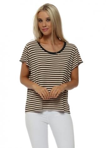 Hanna Hello Sailor Stripe Peach Ice T-Shirt