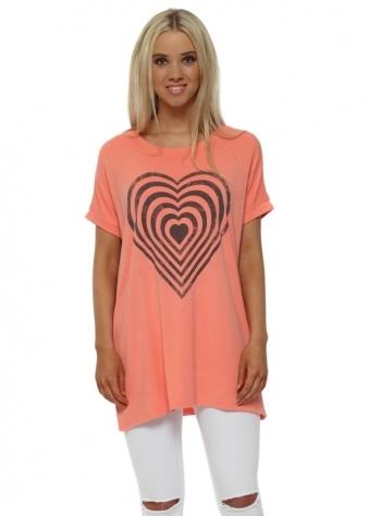 Melon Infinity Heart Tank Sweater