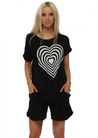 Vicky Black Sweat Shorts