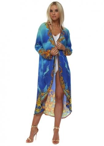 Baroque Oceanana Crystal Kimono