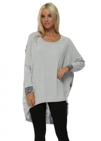 Patty Photo Rose Vanilla Contrast Tunic Top