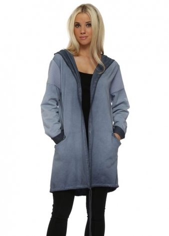 Blue Star Hooded Cotton Jacket