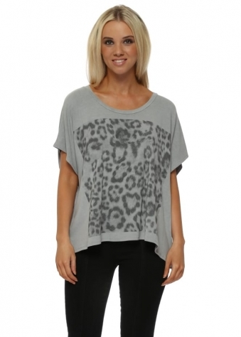 Giant Leopard Print Mouse Tunic Tee