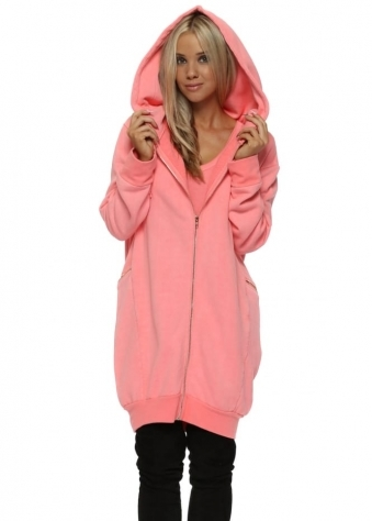 Penelope Coraline Hooded Fleece Parker